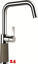 SCHOCK Küchenarmatur SC-530 Cristalite® Golden Line Einhebelmischer Festauslauf 360° schwenkbarer Auslauf mit Materialhülse in 4 Farben