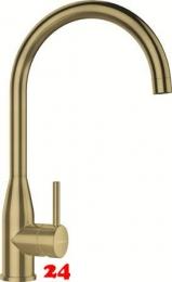 SCHOCK Küchenarmatur Kavus White Gold Einhebelmischer Oberfläche: Goldfarben mit Festauslauf