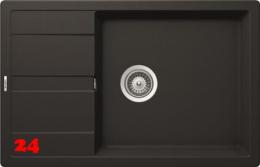 SCHOCK Küchenspüle Manhattan D-100LS Cristalite® Granitspüle / Einbauspüle Basic Line in 4 Farben mit Drehexcenter