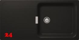 SCHOCK Küchenspüle Wembley D-100L Cristadur® Nano-Granitspüle / Einbauspüle in 8 Farben mit Drehexcenter