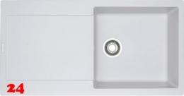 {Lager} FRANKE Küchenspüle Maris MRG 611-100 Fragranit+ Glacier Einbauspüle / Granitspüle mit Excenter