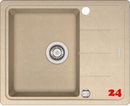 {Lager} FRANKE Küchenspüle Basis BFG 611-62 Fragranit+ Beige Einbauspüle / Granitspüle mit Drehknopfventil