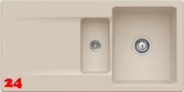 Villeroy & Boch SILUET 60 R-Classicline Einbauspüle / Keramikspüle aus TitanCeram in 9 Standard Farben