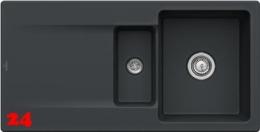 Villeroy & Boch SILUET 60 R-Premiumline Einbauspüle / Keramikspüle aus TitanCeram in 4 Sonder Farben