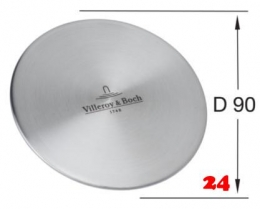 Villeroy & Boch Cap Ventilabdeckung Edelstahl andere Farben auswählbar