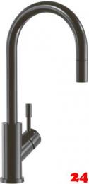 Villeroy & Boch Küchenarmatur Umbrella Flex Einhebelmischer Anthracite mit Zugauslauf