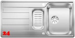 BLANCO Küchenspüle Classimo 6 S-IF Edelstahlspüle / Einbauspüle Flachrand mit Ablaufsystem InFino und PushControl