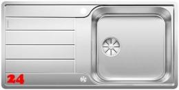 BLANCO Küchenspüle Classimo XL 6 S-IF Edelstahlspüle / Einbauspüle Flachrand mit Ablaufsystem InFino und PushControl