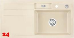 Systemceram KeraDomo BELA 100 Basic Keramikspüle / Einbauspüle in Standardfarben für die Küche