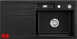 Systemceram KeraDomo BELA 100 Premium Keramikspüle / Einbauspüle in Sonderfarben für die Küche