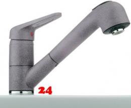 {Lager} FRANKE Küchenarmatur BAT 741 Fragranit+ Einhebelmischer mit Zugauslauf Farbe Steingrau Niederdruck