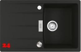 x FRANKE Küchenspüle Centro CNG 611-78 Fragranit+ Einbauspüle / Granitspüle Flächenbündig mit Drehknopfventil