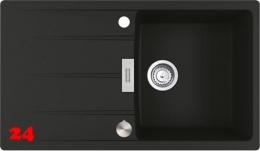 {Lager} FRANKE Küchenspüle Centro CNG 611-86 Fragranit+ Einbauspüle / Granitspüle Flächenbündig mit Drehknopfventil