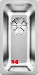 BLANCO Küchenspüle Solis 180-IF Edelstahlspüle / Einbauspüle Flachrand mit Ablaufsystem InFino und Handbetätigung