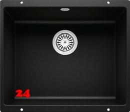 BLANCO Rotan 500-U Silgranit® PuraDur®II Granitspüle / Unterbaubecken in 6 Farbtönen mit Handbetätigung