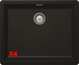 SCHOCK Küchenspüle Greenwich N-100L-U Cristadur® Nano-Granitspüle / Unterbauspüle Green Line in 2 Farben mit Drehexcenter