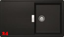 SCHOCK Küchenspüle Tia D-100 Cristadur® Nano-Granitspüle / Einbauspüle in 8 Farben mit Drehexcenter