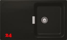 SCHOCK Küchenspüle Wembley D-100 Cristadur® Nano-Granitspüle Green Line in 2 Farben mit Drehexcenter