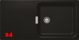 SCHOCK Küchenspüle Wembley D-100L Cristadur® Nano-Granitspüle Green Line in 2 Farben mit Drehexcenter