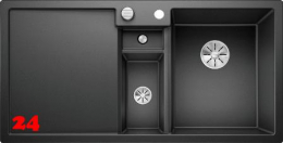 {Lager} BLANCO Collectis 6 S Silgranit® PuraDur®II Granitspüle / Einbauspüle Ablaufsystem InFino Farbe Anthrazit