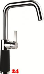 SCHOCK Küchenarmatur SC-530 Cristadur® Green Line Einhebelmischer Festauslauf 360° schwenkbarer Auslauf mit Materialhülse in 2 Farben
