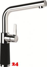 SCHOCK Küchenarmatur SC-540 Cristadur® Green Line Einhebelmischer Festauslauf 360° schwenkbarer Auslauf mit Materialhülse in 2 Farben