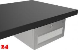 {Lager} DREILICH Sirius II Papierhandtuchspender 9120104 für die verdeckte Untertischmontage mit Zylinderschloss (2002040013)