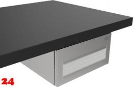 {Lager} DREILICH Sirius II Papierhandtuchspender 9120104F für die verdeckte Untertischmontage mit Federschnäpper (2002040076)