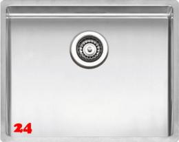 REGINOX Clean & Care New York 50x40 (L) KG-CC Einbauspüle Edelstahl mit Flachrand 3 in 1 ohne Überlauf medizinischer Bereich