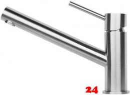 {LAGER} REGINOX Küchenarmatur Oxon Edelstahl massiv (R34606) Einhebelmischer mit Festauslauf 360° schwenkbarer Auslauf